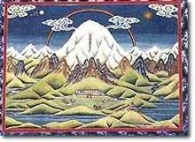 Dessin mont kailash