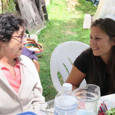 Elisabeth et kathy